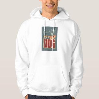 Hot Dog Hooded Sweatshirt
