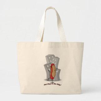 Hot Dog in the City Jumbo Tote Bag