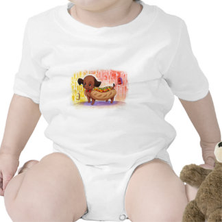 Hot Dog In The City Kitschy Cute Bodysuit