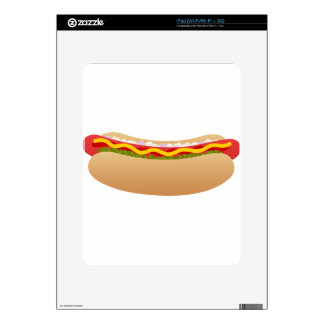 Hot Dog iPad Skins