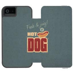 Hot Dog iPhone SE/5/5s Wallet Case