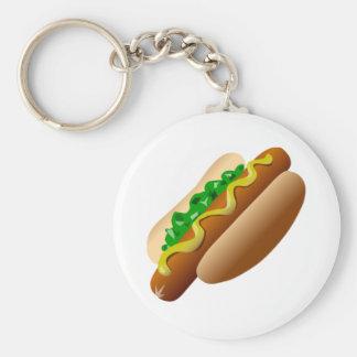 Hot Dog Keychains