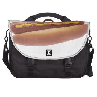 Hot Dog Laptop Messenger Bag