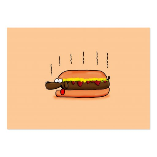 Hot Dog Business Cards Pack 100