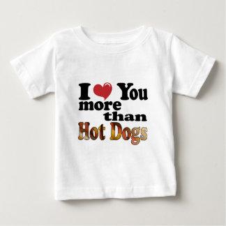 Hot Dog Love Baby T-Shirt