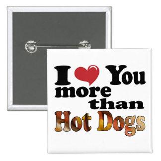 Hot Dog Love Button