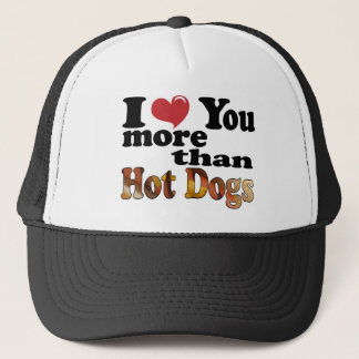 Hot Dog Love Trucker Hat