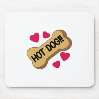 Hot Dog! Mouse Pad