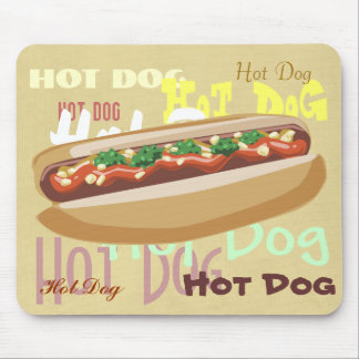 Hot Dog Mousepad