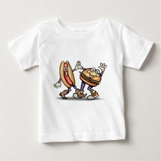 Hot Dog n Hamburger Baby T-Shirt
