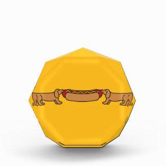 Hot Dog-O-War Acrylic Award