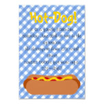 Hot Dog! Party 3.5x5 Paper Invitation Card