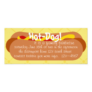 Hot Dog! Party Card