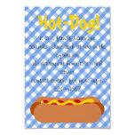 Hot Dog! Party Custom Invitation