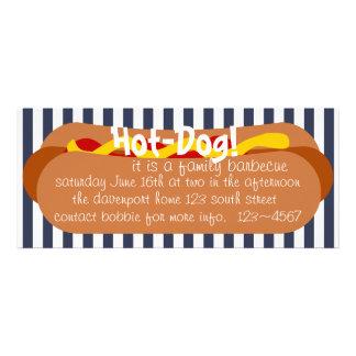 Hot Dog Party Invites