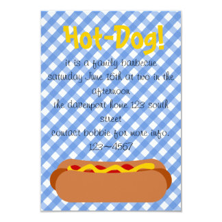 Hot Dog! Party Invitation