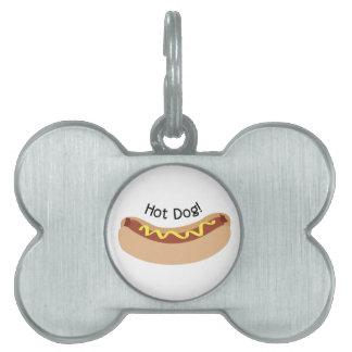 Hot Dog! Pet Tag