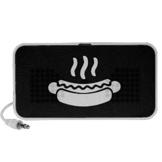Hot Dog Pictogram Doodle Speaker