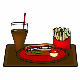 Hot Dog Platter Photo Sculpture
