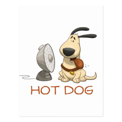 Hot Dog Post Cards