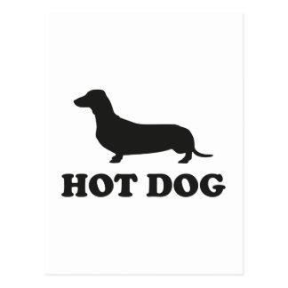 HOT DOG POST CARD