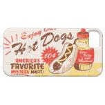 Hot Dog Retro iPhone Case iPhone 5 Cover