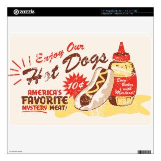Hot Dog Retro MacBook Air Skin