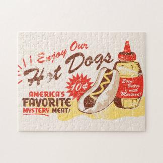 Hot Dog Retro Puzzle
