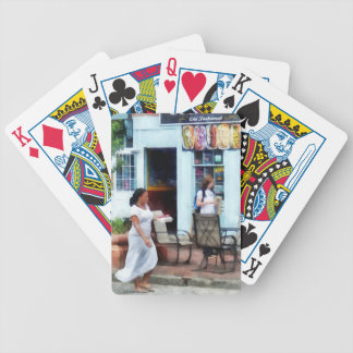 Hot Dog Shop Fells Point Bicycle Playing Cards