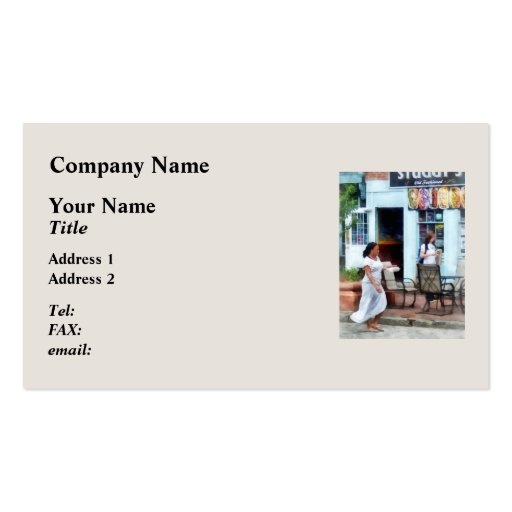 Hot Dog Shop Fells Point Business Card Templates