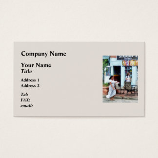 Hot Dog Shop Fells Point Business Card