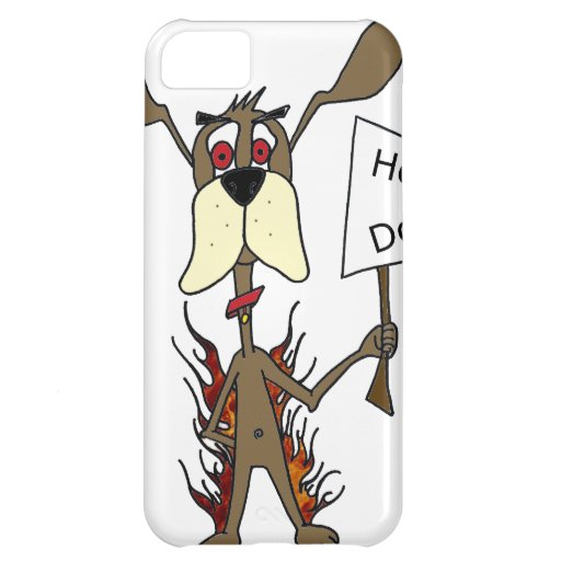 Hot dog sign iPhone 5C cover