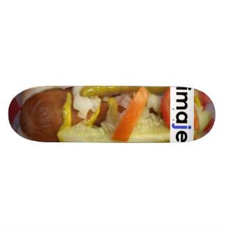 Hot Dog Skateboard Deck