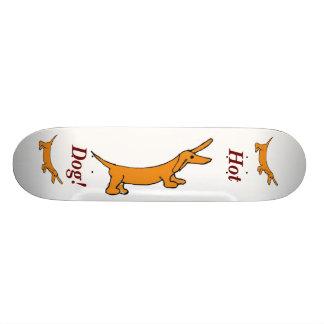 Hot Dog Skateboard. Skateboard Deck