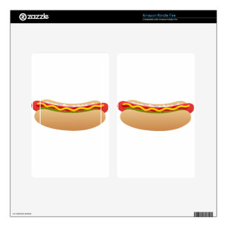 Hot Dog Skin For Kindle Fire