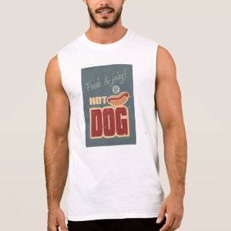 Hot Dog Sleeveless Shirt