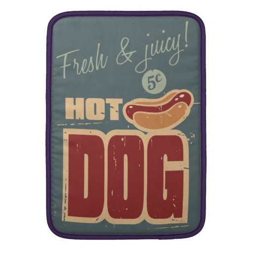 Hot Dog Sleeves For MacBook Air