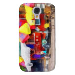 Hot Dog Stand in Mall Galaxy S4 Covers