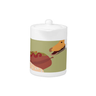 hot dog teapot