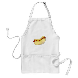 Hot Dog w/ Mustard Grill Grilling Apron