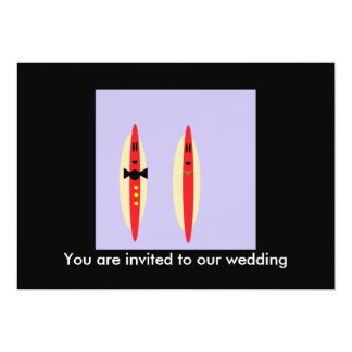 Hot Dog Wedding Card