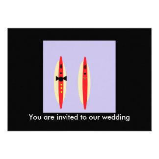 Hot Dog Wedding Invite