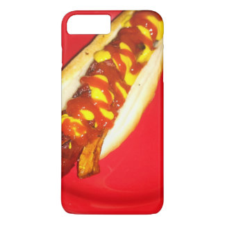 Hot Dog with Ketchup and Mustard iPhone 8 Plus/7 Plus Case
