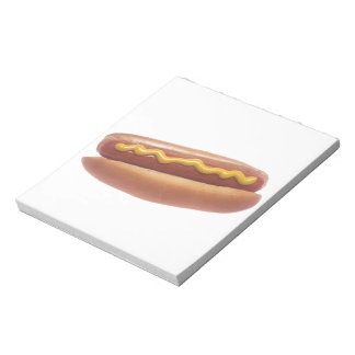 Hot Dog with Mustard Notepad