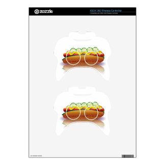 hot dog xbox 360 controller decal