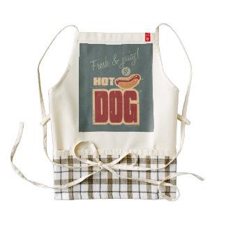 Hot Dog Zazzle HEART Apron