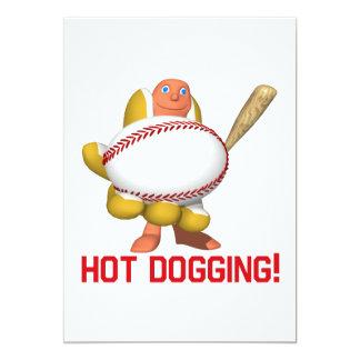 Hot Dogging Card