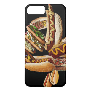 b9e1b7d2e2 Hot Dog iPhone 8 Plus/7 Plus Cases | Zazzle