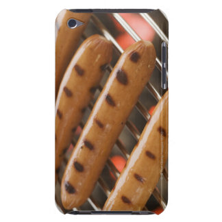 Hot dogs cooking on grill Case-Mate iPod touch case