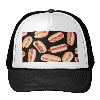 Hot Dogs Mesh Hats